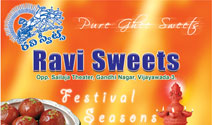 Ravi Sweets Package Design