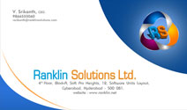 Ranklin Solutions Business Card